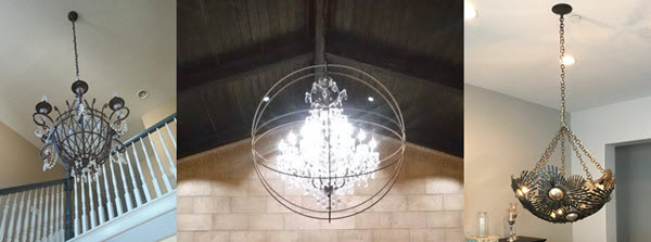 Chandelier Installation Replacement, How Much Does It Cost To Fix Chandelier